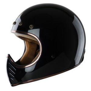 nón royal h1 đen bóng