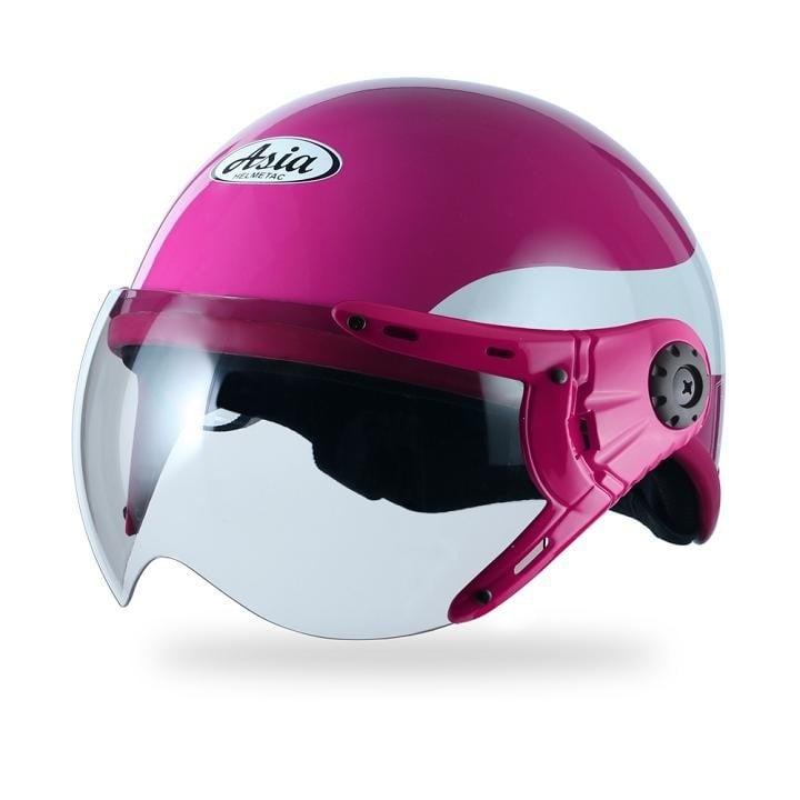 mũ bảo hiểm nữ có kính