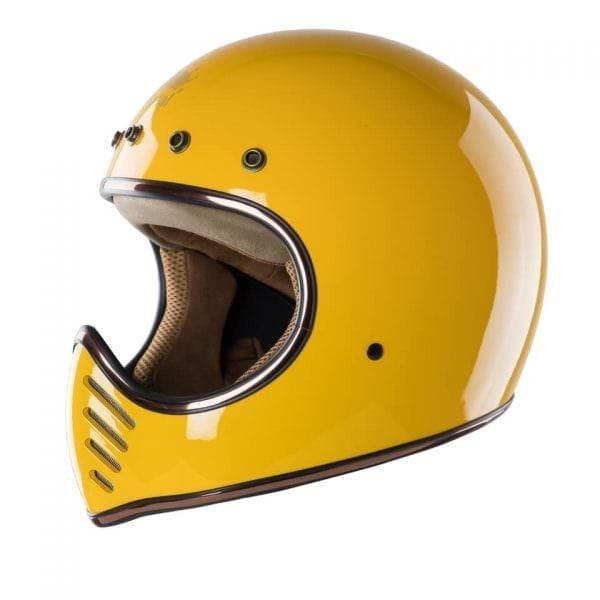 mũ bảo hiểm royel king h1 màu vàng