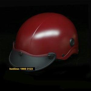 Nón bảo hiểm Nón Sơn Chính Hãng – Đỏ nâu