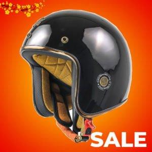 nón Royal M20C đen bóng