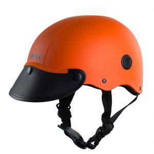 nón bảo hiểm nửa đầu haly rona sơn cam