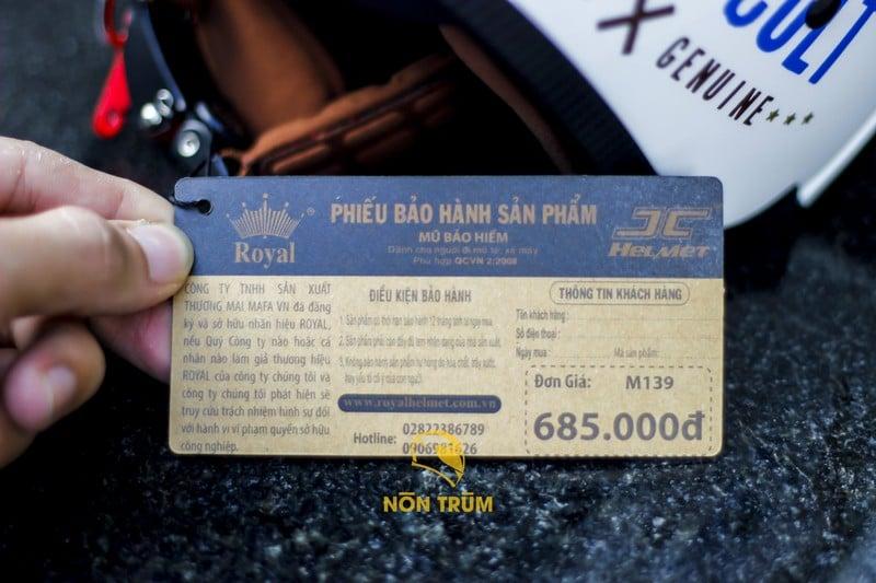 giá royal m139