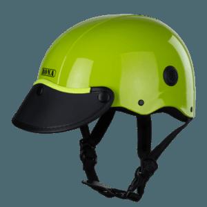 nón bảo hiểm nửa đầu haly rona sơn xanh lá
