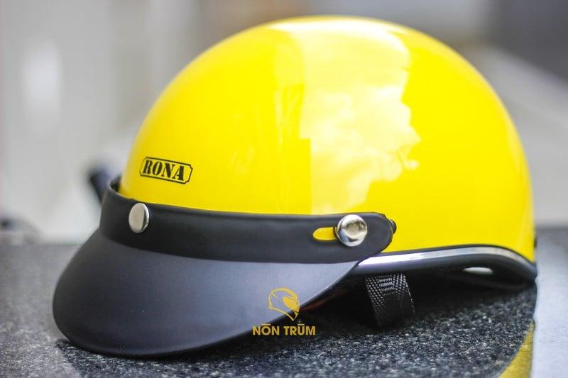 mũ Rona R6 vàng