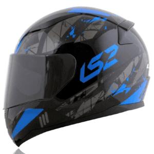 LS2 FF353 Đen Xanh