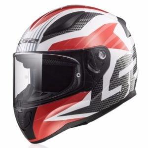 LS2 FF353 trắng đỏ