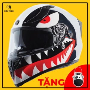 nón torc fullface t18 tiger