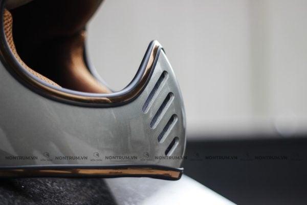 nón fullface classic Royal H1 xám