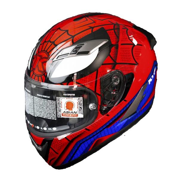 nón bảo hiểm fullface KYT spiderman