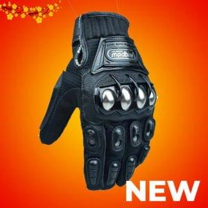 găng tay madbike đen