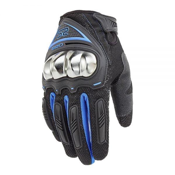 găng tay 0125E đen xanh dương