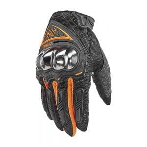 găng tay 0125E đen cam