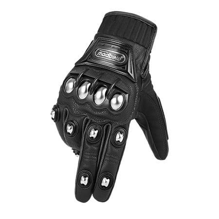 phụ kiện nón bảo hiểm găng tay madbike dài đen