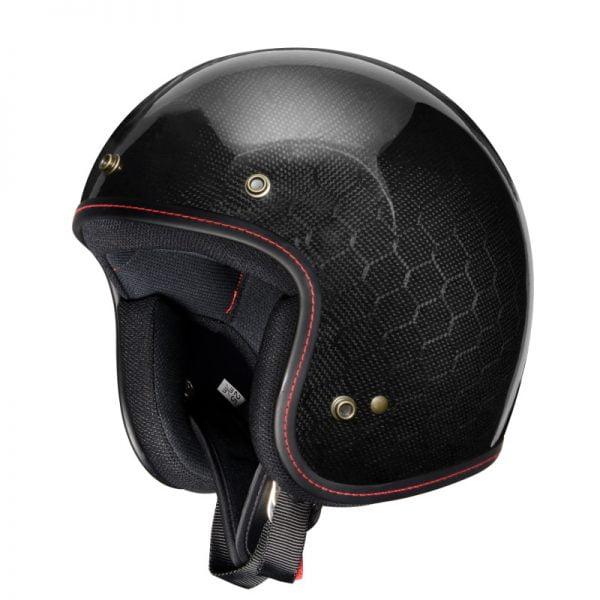 nón mũ bảo hiểm 3/4 carbon zealot nhật bản