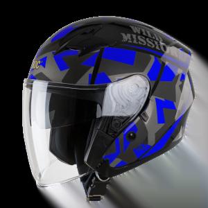 nón bảo hiểm fullface ROC R02 v2 xanh dương