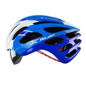 nón xe đạp JC 25 xanh