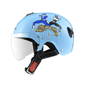 nón bảo hiểm sunda 108SB siêu nhân xanh