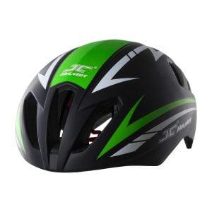 nón xe đạp JC 06 xanh lá