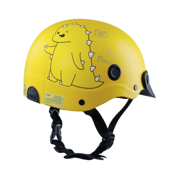 nón bảo hiểm Rona Dino vàng