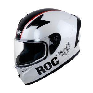 nón bảo hiểm fullface ROC R01 v4 trắng