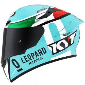 nón bảo hiểm fullface kyt tt-course leopard
