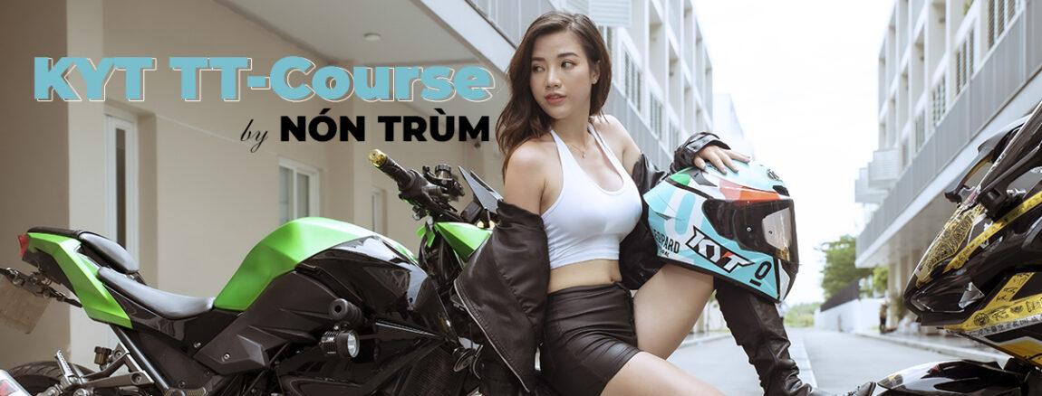 nón fullface KYT TT course
