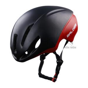 mũ xe đạp Balder B79 đen đỏ