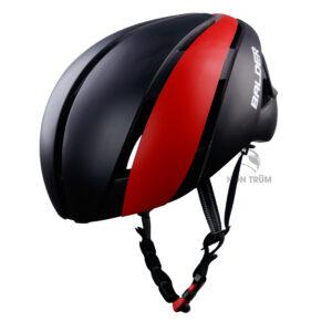 mũ xe đạp Balder B86 đen đỏ